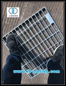 Rejilla de acero galvanizado para la plataforma acera