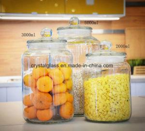 Jarros de geleia de conservas Canisters de cozinha
