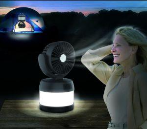 LEDの非常灯の小型ファン再充電可能なキャンプのランタン