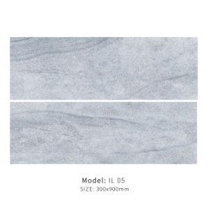 Het kalksteen kijkt Verglaasde Tegel 300X900mm van het Porselein (IL 05)