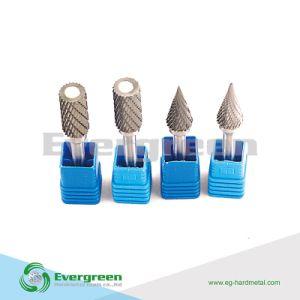 Varios forma rotativa de carburo de tungsteno rebabas