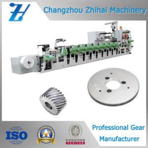 기계 인쇄를 위해 사용되는 정밀도 기어