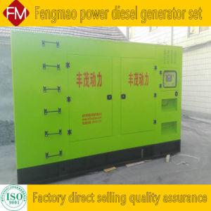 Diesel van het Geval 350kw/437kVA Reeks met geringe geluidssterkte, de Stille van de Generator