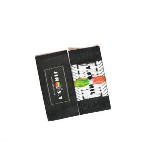 Laser 커트 길쌈된 레이블에 주문 의류 의복 개인적인 철