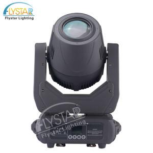 白い150WガラスGobos LEDの点の移動ヘッドライト
