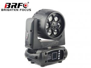 Super Mini 6*10W компактный перемещение головки промойте зум освещения сцены