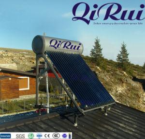 チリのための太陽Keymark En12976によって証明される110liter 160liter 180liter 215liter 265literの高圧太陽給湯装置