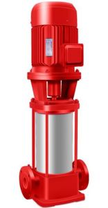 Vertikale mehrstufige zentrifugale Feuer-Pumpen-Edelstahl-Feuerlöschpumpen