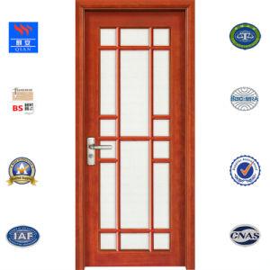 Portelli interni classici di legno solido di legno di quercia di stile con la pittura dell'unità di elaborazione (SW-YL-006)