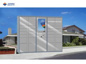 Gymnastik-Schule-Schließfach des neuen Entwurfs-2019 elektronisches intelligentes für Gepäck-Speicher mit grossem Touch Screen