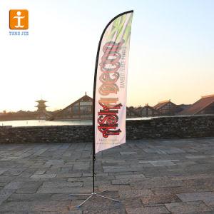 Логотип компании рекламных блейд-Бич флаг ветра (TJ-48)