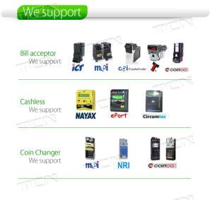 Npt Grande Capacidade combinada automática de snacks das máquinas de venda automática de bebidas
