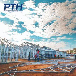 新しい高品質のプレハブの軽い鋼鉄別荘の住宅建設
