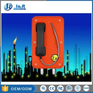 Telefono protetto contro le esplosioni di VoIP di circostanze umide molto seguite dal pubblico per industria pericolosa