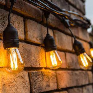 Im Freien Zeichenkette-Licht der Garten-Pfad-Yard-Dekor-Lampen-LED