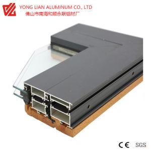 Perfil de alumínio do vidro corrediço horizontalmente com desempenho Thermal-Break Perfil extrusão do alumínio