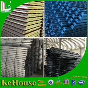 Casa portátil fabricado en acero Estructura de la trama de la casa prefabricados para la construcción de alojamiento del trabajador.