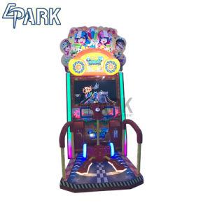 De binnen Muntstuk In werking gestelde Machine van het Spel van de Autoped van het Vermaak Gelukkige