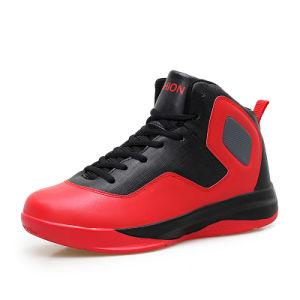 Новые Дышащий пробуксовки колес на баскетбольной обувь мужчин спортивную обувь