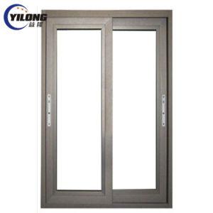 Aislamiento de PVC impermeable de acristalamiento de ventanas deslizantes