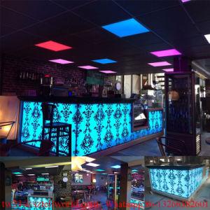Un Café moderne incurvée personnalisé de décoration pour café bar de ...