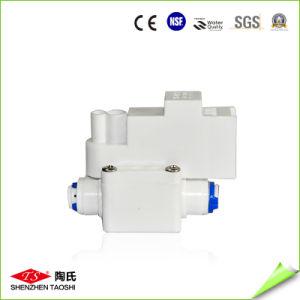 Auto-Flush válvula con controlador de aguas residuales en el sistema de agua RO