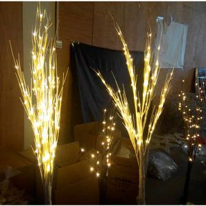 Décoration De Jardin Solaire Led 100cm Arbre De Noël De Lumière Pour