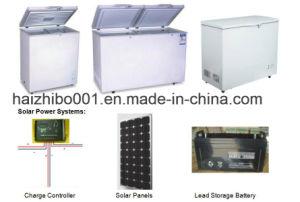 panneau solaire automatique batterie rechargeable Acdc Adaptateur congélateur (HP-CXL160)