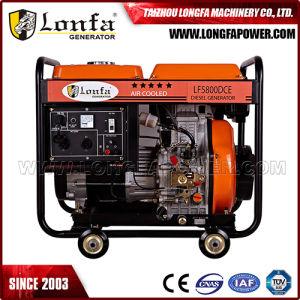 5 квт 5000W 5 КВА открытого типа дизельного генератора с маркировкой CE CIQ Soncap (AD3800DCE-A)