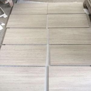 China gris blanco de mármol para suelos de madera