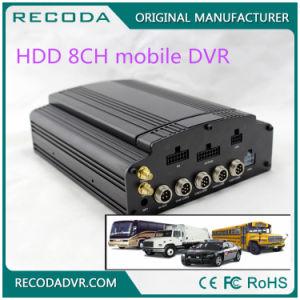 Schwarzer beweglicher Kanal-Input M718 des Fahrzeug-DVR 8, der Recoder 4G videoaufruf fährt