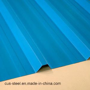 Ondulation Étape d'acier tôle de toit et une seule feuille de zinc en carton ondulé de toiture