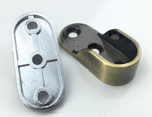 Sostenedor del soporte del tubo del guardarropa de la aleación del cinc (FS-3082)