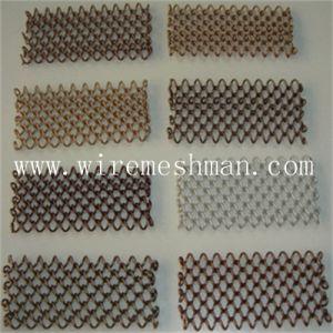 Fabricado na China Popular Cortinas de malha de arame
