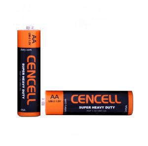 Superhochleistungs-AA trockene Batterie AA/R6 der Cencell Marken-