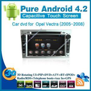 Pure Android 4.2 alquiler de DVD para Opel Vectra (2005-2008) con el GPS Bluetooth Car Kit Radio PC TV