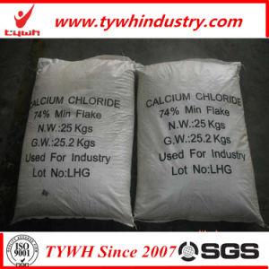 Het chloride van het calcium voor het Ontijzelen en het Smelten van de Sneeuw