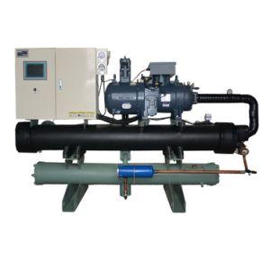 China Fabrico industrial de tipo parafuso arrefecidos a água Chiller de Agua