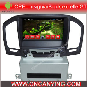Opel Insignia Buick Excelle Gt (AD-8135)를 위한 A9 CPU를 가진 Pure Android 4.4 Car DVD Player를 위한 차 DVD Player Capacitive Touch Screen GPS Bluetooth