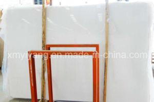 Het Wit van Thassos/de Witte/Zuivere Witte Kunstmatige Marmeren Plak van het Kristal