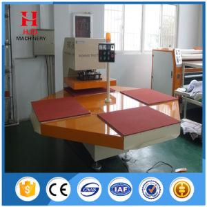 기계를 인쇄하는 자동적인 4개의 역 이동 압박 의복 승화