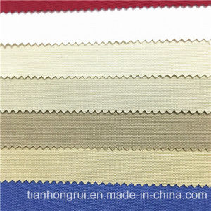 Manufactura de Wuhan de sarga de algodón 100% tejido ignífugo