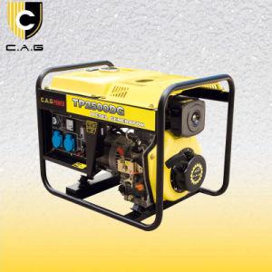 2kw 2kVA 2000 Watt 2 kilovatios de potencia del motor Diesel Portátil Generador (TP2500DG/E)