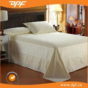 100% algodón promocionales baratos ropa de cama de hotel (DPF1071006)