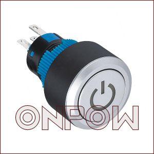 Кнопка Cимвола Cилы Onpow (LAS1-AWY-11T/R/24V, CE, UL, VDE, RoHS)