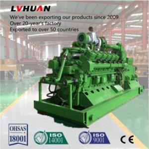 500kw conjunto gerador de gás natural 12V190 Motor com 12 cilindros
