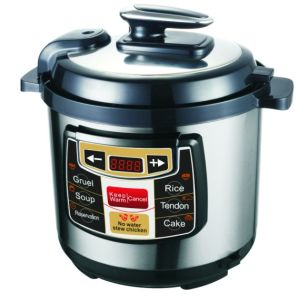 400With500With600W Intelligent Type Press Control Rice Cooker Electric Pressure Cooker (D6C)