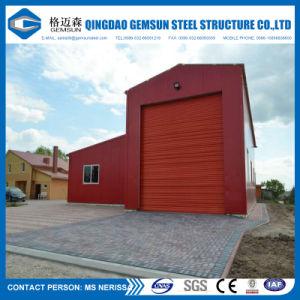 Edificios con estructura de acero para el taller y almacén