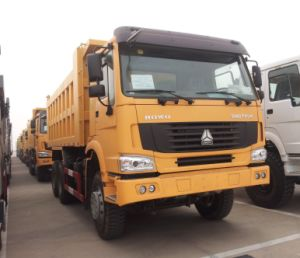 HOWO 16 Ton van de Vrachtwagen van de Stortplaats/Kipwagen
