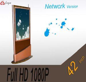 42의  Floorstanding Style를 가진 인치 Network Version LCD Advertizing Display Indoor